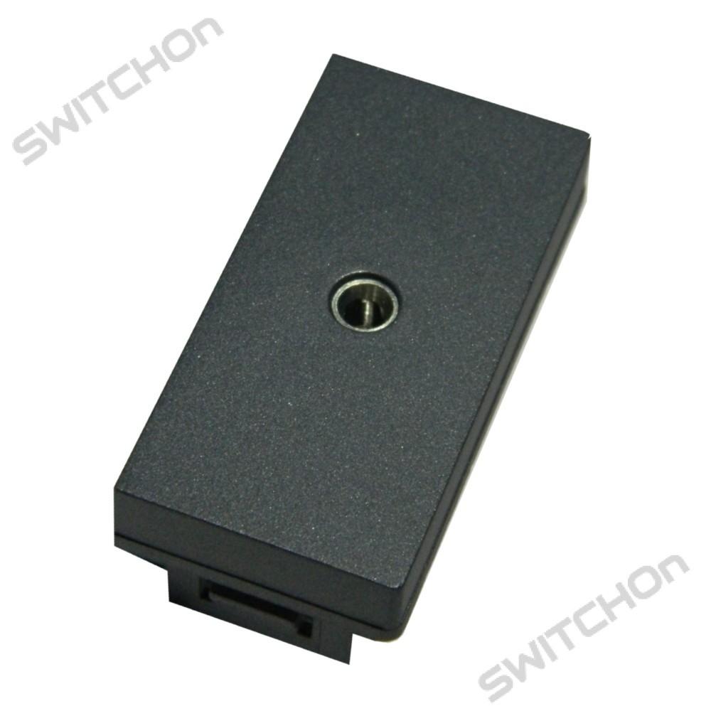 Grey 35mm Aux Headphone Jack Connection Keystone Modular Audio Wiring
