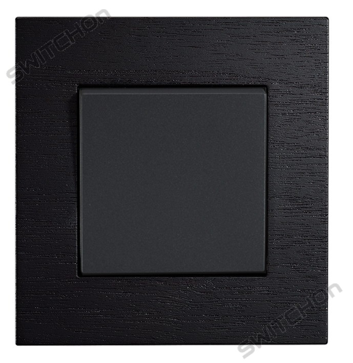 1G2W Light switch designer Wood Wenge Colour