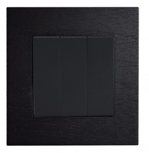 Real Wood Light Switch Wenge Colour
