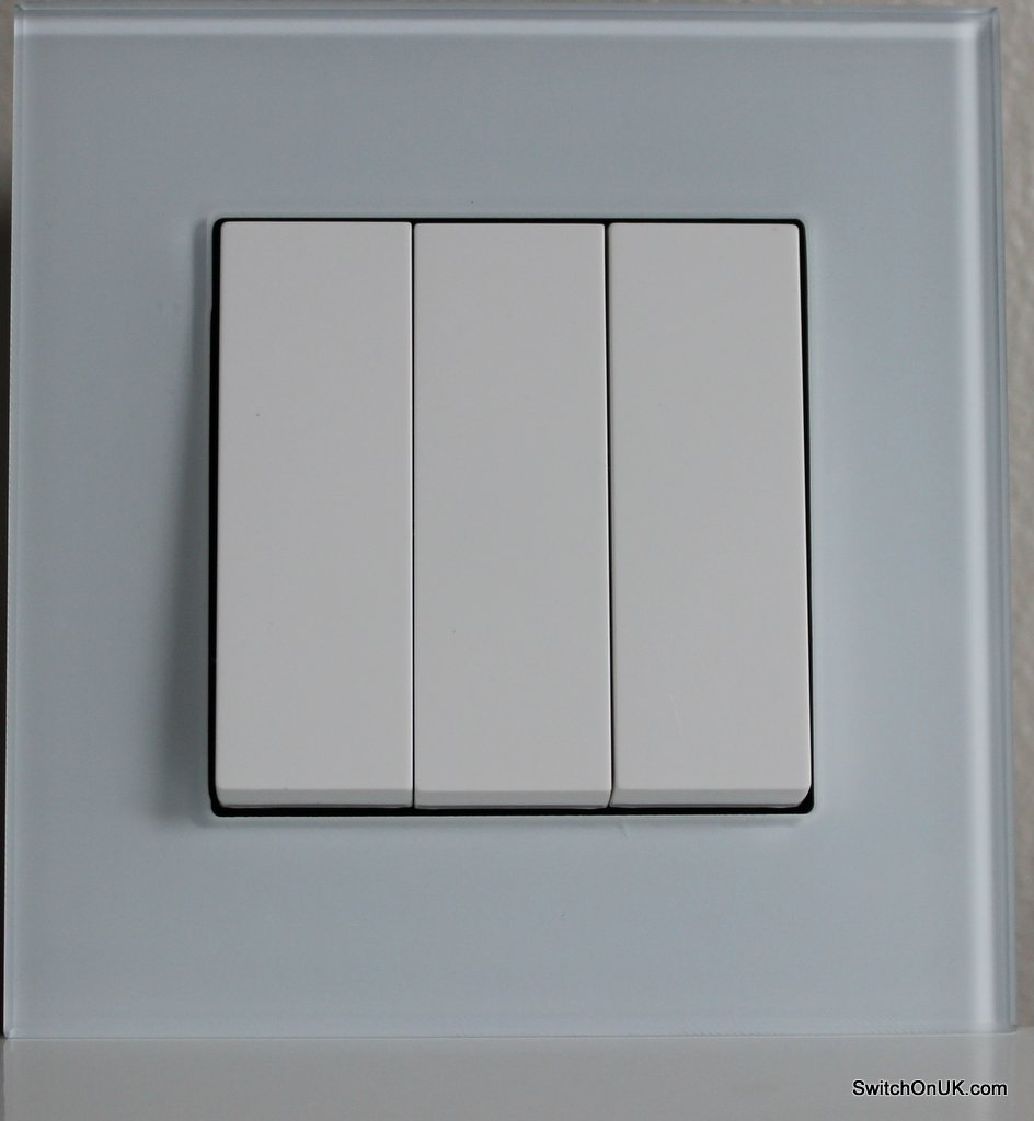 White Glass Switch