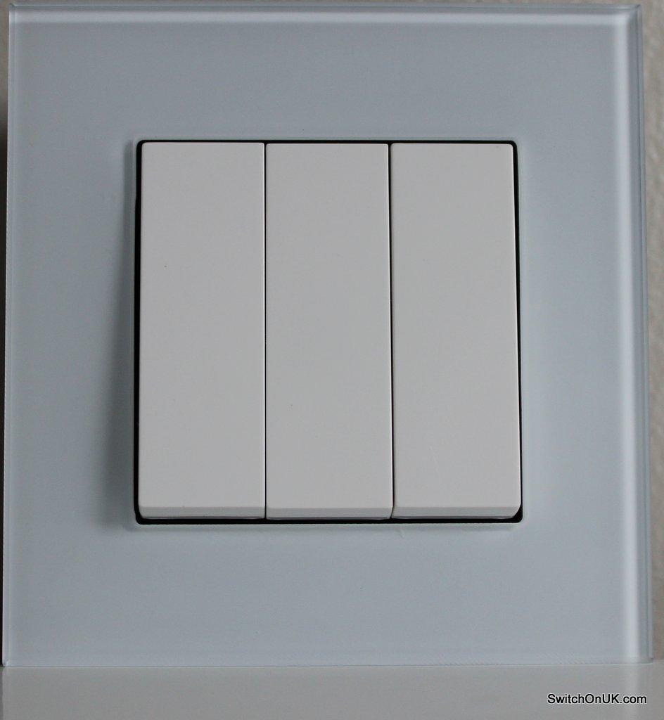 White Glass Switch
