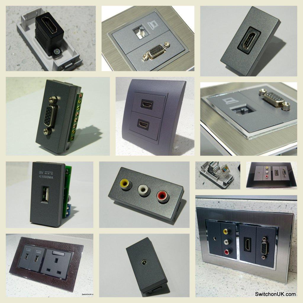 AV Ports & Components