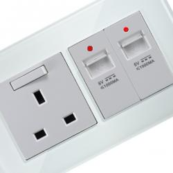Wall Sockets & USB Chargers
