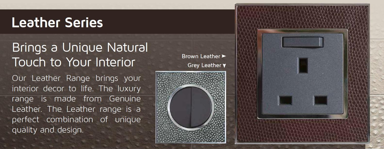 Unique Leather range